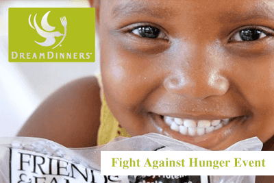 Dream Dinners Fight Against Hunger Event