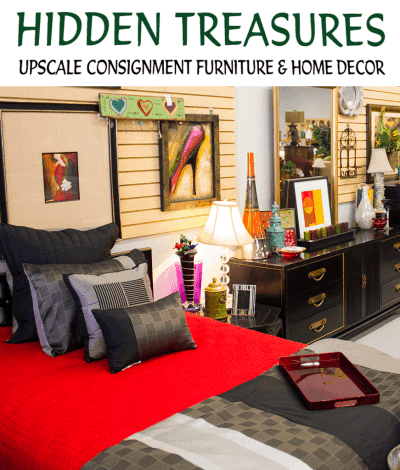 Hidden Treasures Upscale Consignment Furniture and Home Decor